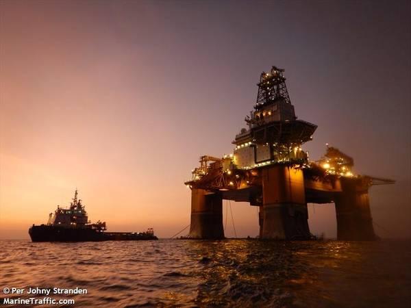An Odfjell Drilling rig - Per Johny Stranden - MarineTraffic