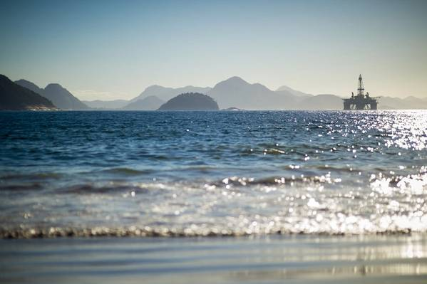 An offshore rig in Brazil - Credit: Lazyllama/AdobeStock