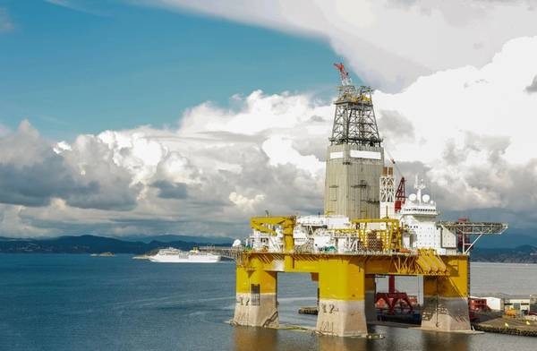 An offshore drilling rig - Image by mariusltu/AdobeStock