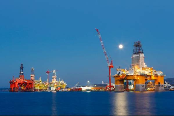 Offshore drilling rigs in Norwa - Credit:mariusltu/AdobeStock
