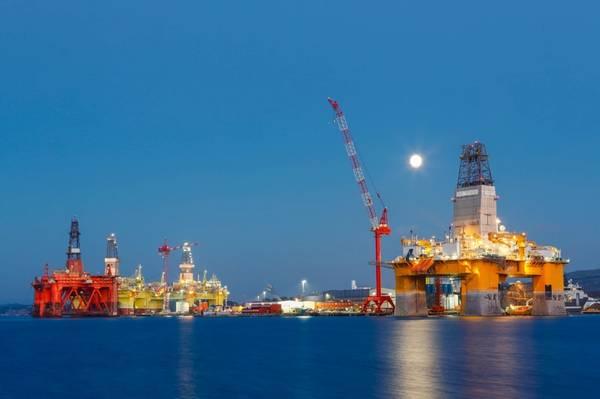 Offshore rigs in Norway - Credit: mariusltu/AdobeStock