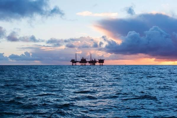 An offshore platform complex in Norway/Lukasz Z