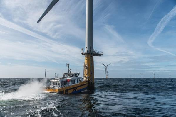 Offshore wind crew transfer vessel. Windcat 1