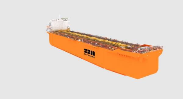 SBM Offshore's Fast4Ward Hull -Credit: SBM Offshore