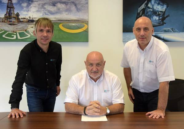 From left; Aly Gray - Operations Director, Brian Dillon - Managing Director, Brian Milne - Technical Director / Credit: ZynQ 360
