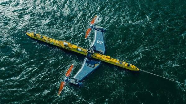 Orbital's O2 Tidal Turbine - Credit: SKF