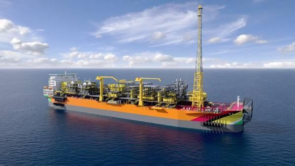 A Payara FPSO render - Credit: ExxonMobil