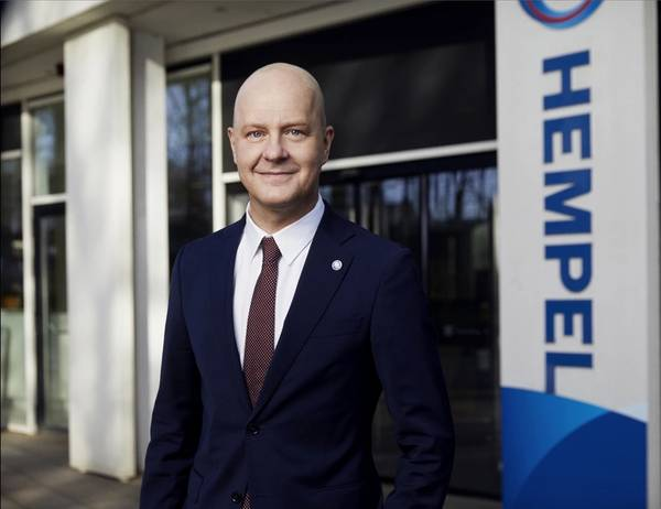 Lars Petersson, CEO of Hempel.