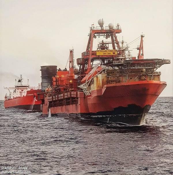 Petrojarl Foinaven - Image by Andrew Blagg - MarineTraffic