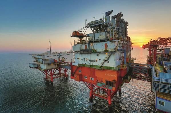 OMV Petrom's Black Sea Platform - Credit: OMV Petrom/Flickr