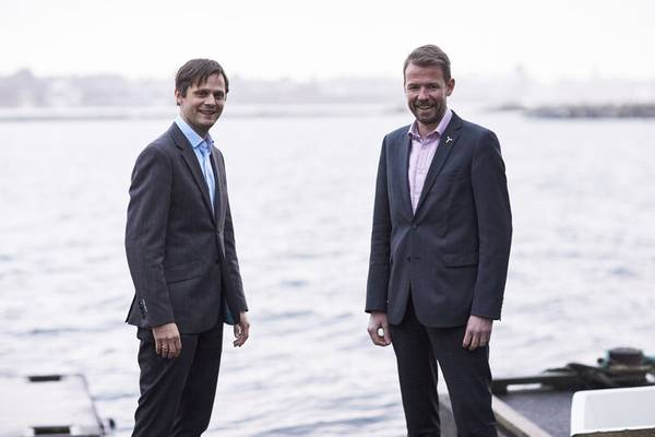 Hans Petter Øvrevik, Chief Commercial Officer (CCO) of Deep Wind Offshore (left) - Knut Vassbotn, CEO of Deep Wind Offshore (right)