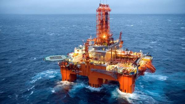 The West Phoenix drilling rig. (Photo: Seadrill)