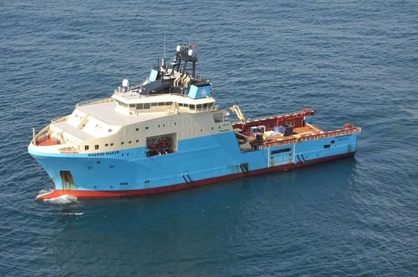 Photo courtesy Maersk Supply Service