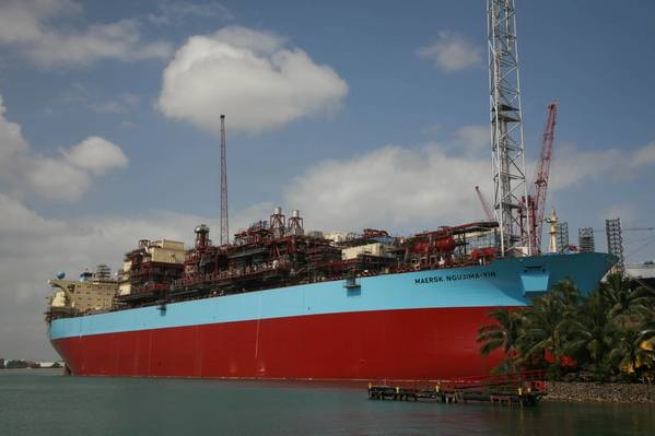 File photo: The Ngujima-Yin FPSO, previously named Maersk Ngujima-Yin, in 2008 (Photo: Keppel Offshore and Marine)