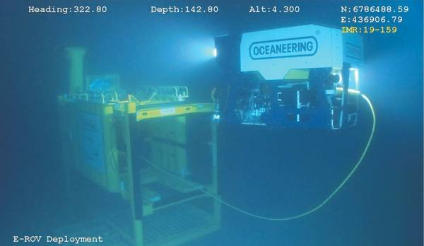 E-ROV (Photo: Oceaneering)