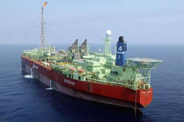 File photo: El Señor del Mar FPSO (Photo: Pemex)