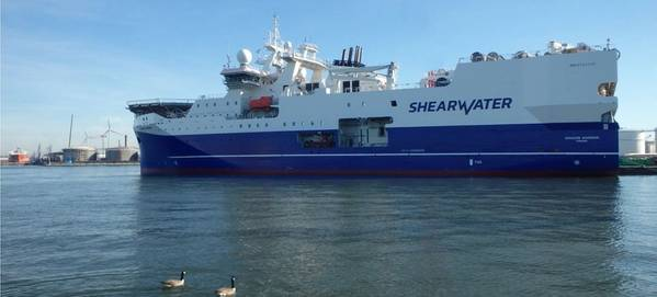Photo by Shearwater GeoServices Holding AS