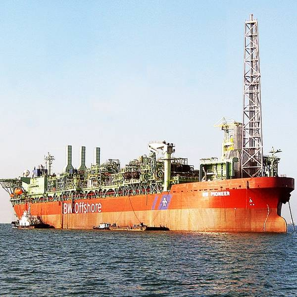 BW Pioneer FPSO - Image by BW Offshore