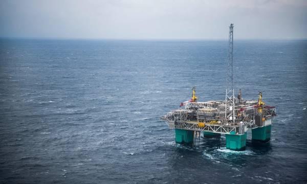 Gjøa platform; Credit: Neptune Energy