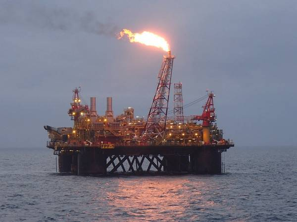 Platform at Ithaca's Stella Field in the North Sea - Image Credit: Ithaca Energy