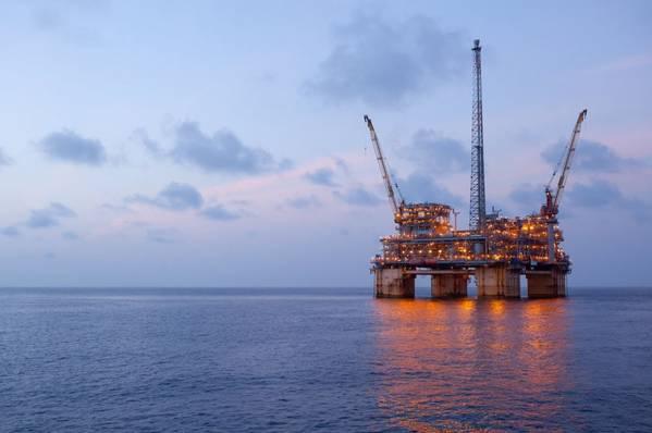 Na Kika Platform in the Gulf of Mexico - Credit: BP