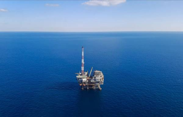 An oil platform in the U.S. Gulf of Mexico. Image by donvictori0 - AdobeStock