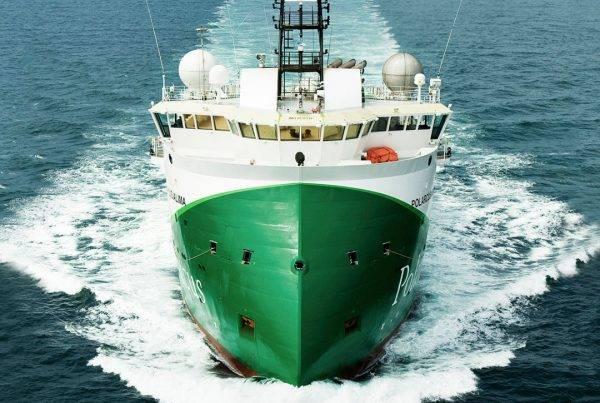 A Polarcus vessel - Credit: Polarcus