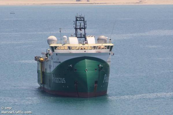 A Polarcus vessel / Credit: smp/MarineTraffic.com