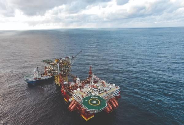 A Premier Oil platform in the North Sea/Credit: Premier Oil