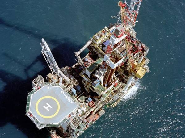 Premier Oil is working to buy the Andrew platform and BP's controlling stake in five surrounding fields, as well as its minority stake in the Shell-operated Shearwater field (Photo: BP)