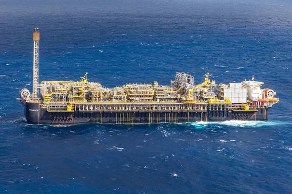 The P66 FPSO producing at Lula South pre-salt play (Photo: Petrobras)