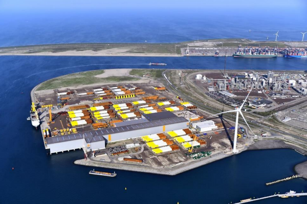 Production and storage location Sif at Maasvlakte 2 Rotterdam, The Netherlands - Credit: Sif - Smulders
