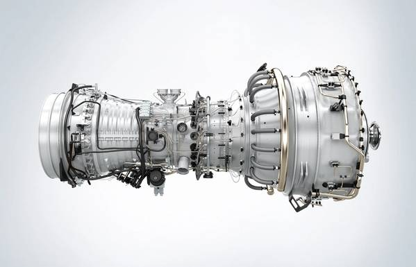 Rendering of SGT-A35 gas turbine core engine. (Image: Siemens)
