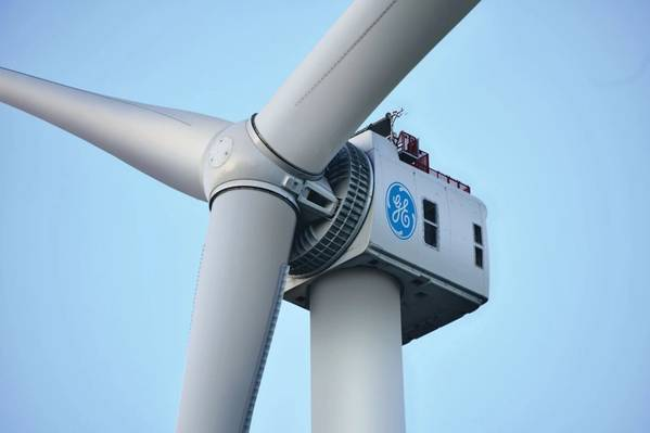 GE Renewable Energy's Haliade-X 12 MW - Credit: GE