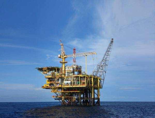 A Repsol platform in Malaysia / Image by Repsol/Flickr. Shared under CC BY-NC-SA 2.0 license
