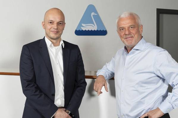 Left to right: CEO Søren Kringelholt Nielsen and Chairman Søren Ø. Sørensen (Photo: ????Svanehøj Group)