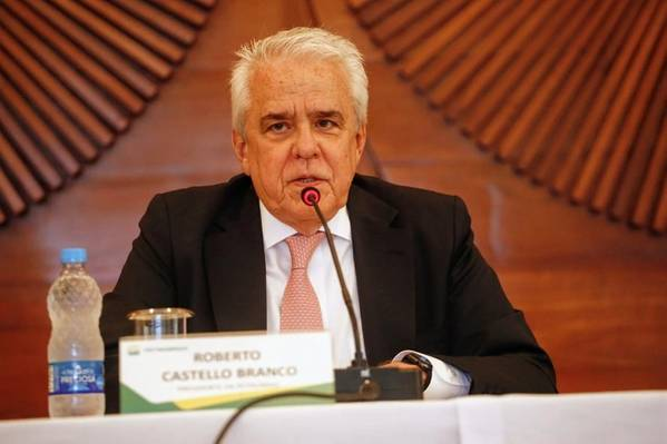 Roberto Castello Branco, Petrobras CEO - Image by Vivian Fernandez / Agência Petrobras
