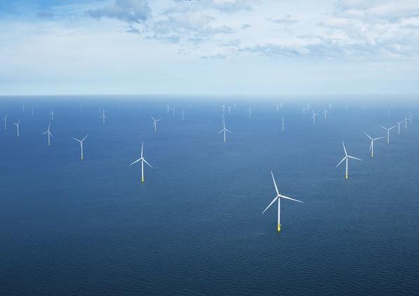 Ørsted's wind farm in the Dutch North Sea - File Photo: Ørsted