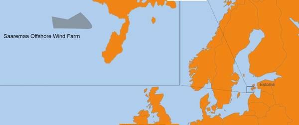 Saaremaa site map - Image: Van Oord