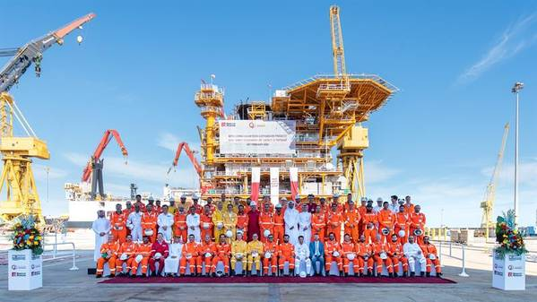 The LQ sailaway ceremony, Image by Qatargas