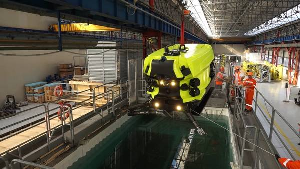 Saipem's Hydrone R – in the flesh and ready for real world testing (Photo: Saipem)