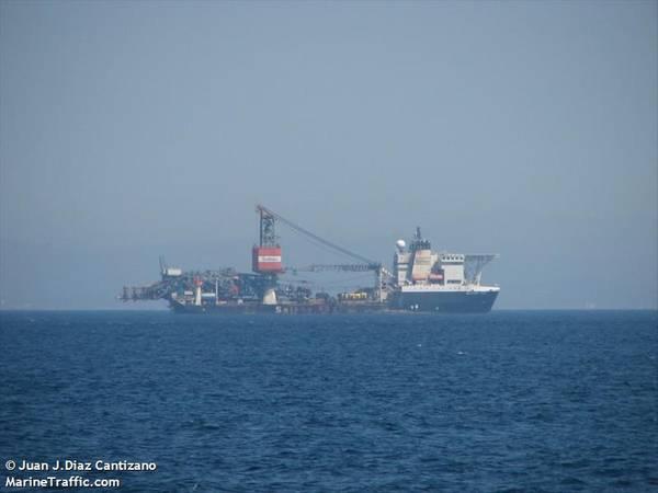 Saipem's FDS vessel - Credit: Juan J. Diaz Cantizano / MarineTraffic
