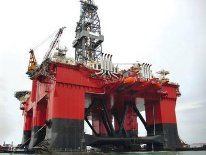 A Seadrill drilling rig/Credit: Seadrill
