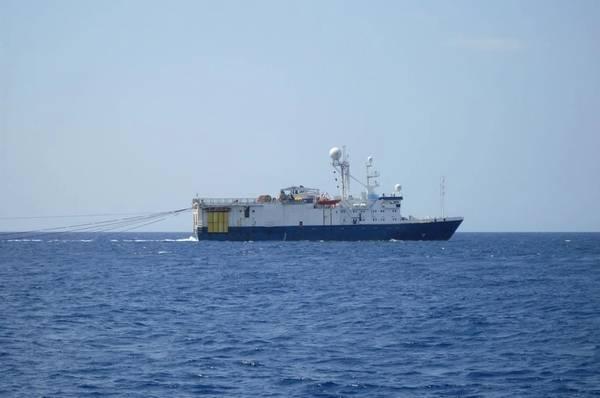 A seismic survey vessel - Image by DedMityay/AdobeStock
