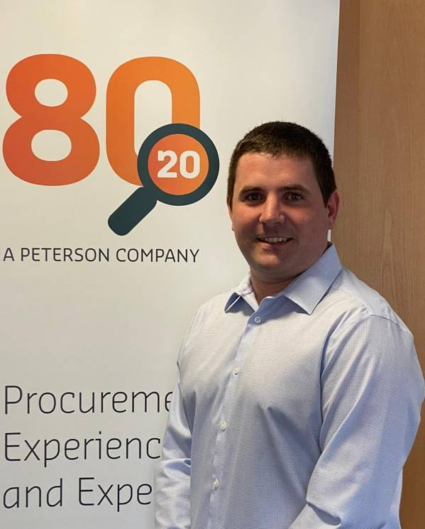 Mark Selbie, Business Development Manager at 80:20 - Credit: Peterson