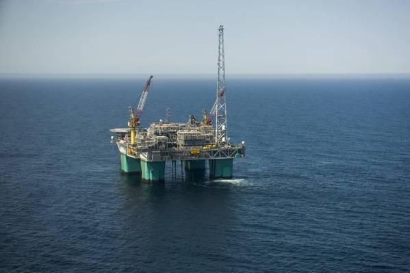 Gjøa is a semi-submersible platform in the Northern North Sea (Photo: Jan Inge Haga / Neptune Energy)