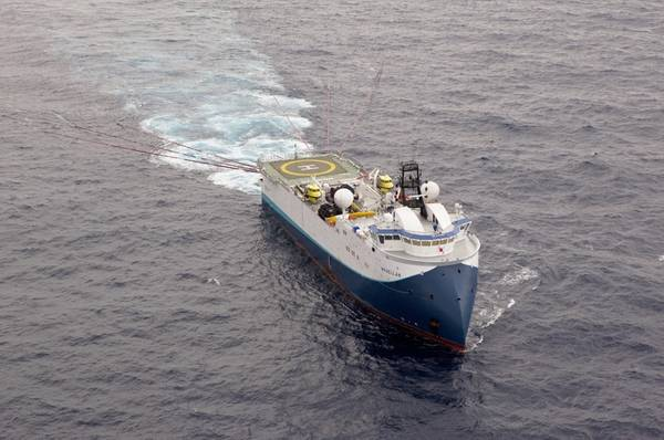 A Shearwater GeoServices vessel (Credit:Shearwater GeoServices)