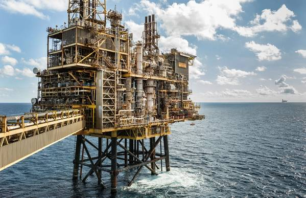 The Shearwater platform in the UK North Sea (Photo: Shell)