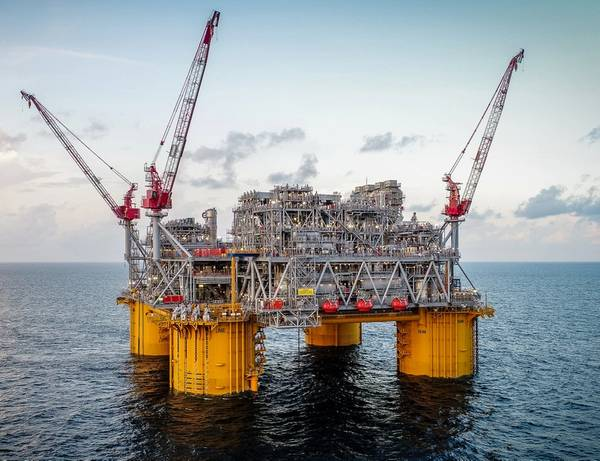 The Shell-operated Appomattox platform was recently brought online in the US Gulf of Mexico (Photo: Shell)