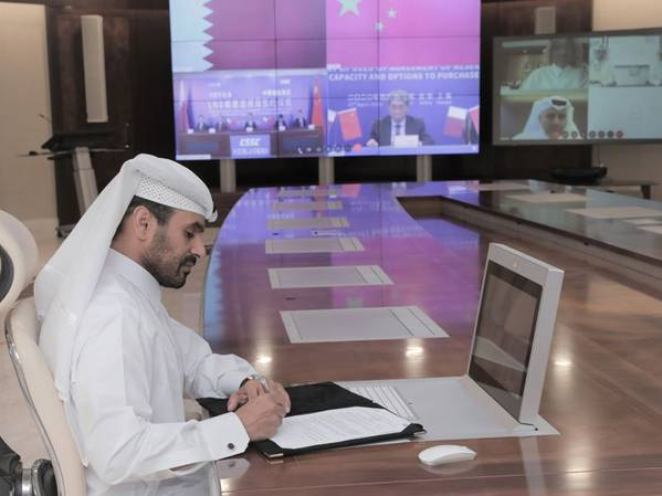 Saad Sherida Al-Kaabi, the Minister of State for Energy Affairs, the President and CEO of Qatar Petroleum